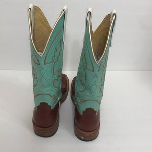 04cd83b33df Anderson Bean Boot Company Turquoise Boots S1016